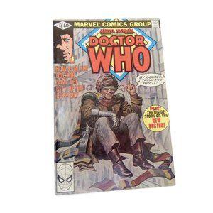Dr. Who Marvel Premiere #60 6/1981 City of the Cursed Romana Leela